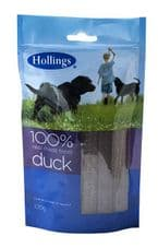 Hollings 100% Real Meat Treat - Duck 100g